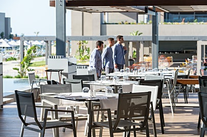 Din All Inclusive gælder på alle hotellets fire restauranter – her restaurant Kouzina.