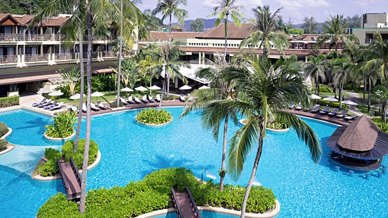 Blue Star Phuket Marriott Resort & Spa, Merlin Beach